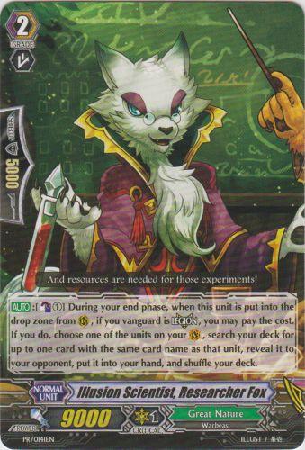 Illusion Scientist, Researcher Fox - PR/0141EN - PR