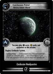 Cardassia Prime, Hardscrabble World