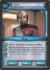 Worf, First Officer