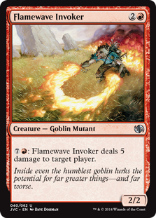 Flamewave Invoker (Goblins vs Elves)