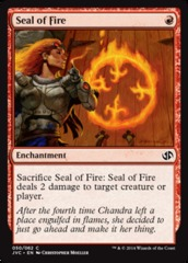 Seal of Fire on Channel Fireball