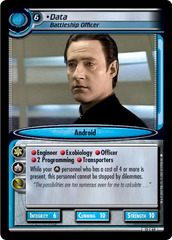 Data, Battleship Officer