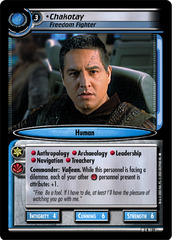 Chakotay, Freedom Fighter