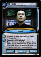 Data, Commanding Officer - Reprint