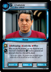 Chakotay, First Officer