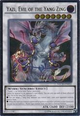 Yazi, Evil of the Yang Zing - NECH-EN051 - Ultimate Rare - Unlimited Edition