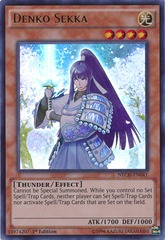 Denko Sekka - NECH-EN041 - Ultra Rare - Unlimited Edition on Channel Fireball