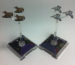 Star Trek: Attack Wing – Hideki Class Attack Fighters Resource