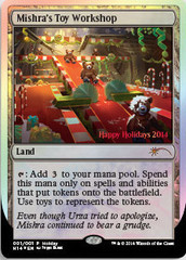 Mishra's Toy Workshop (2014 Holiday Foil)
