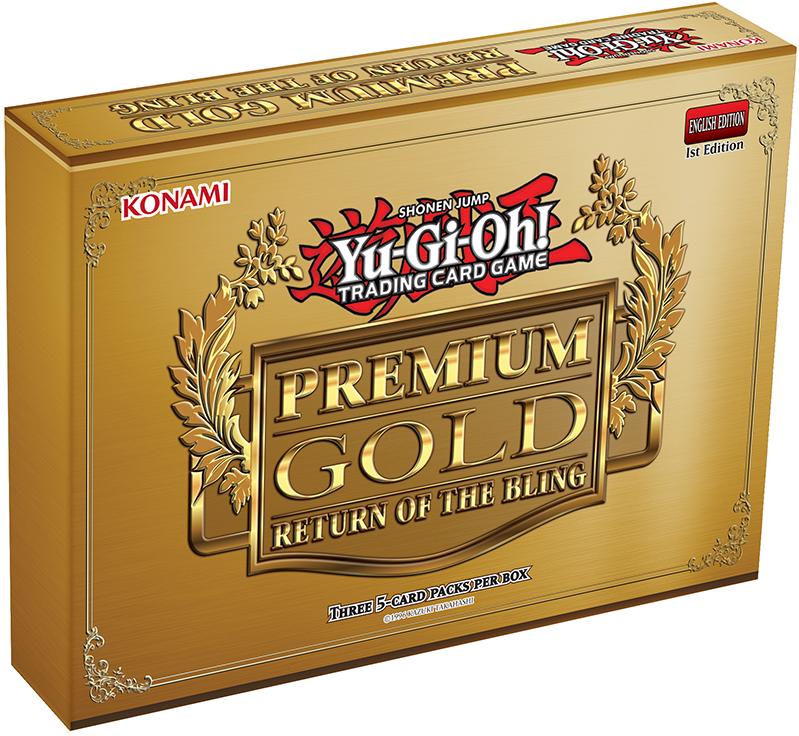 Yu-Gi-Oh Premium Gold 2: Return of the Bling Booster Mini-Box