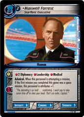 Maxwell Forrest, Starfleet Executive