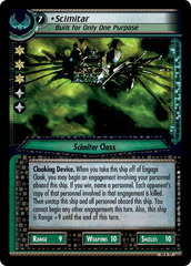 Scimitar, Built For Only One Purpose - Archive Foil