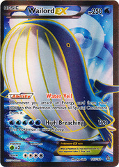 Wailord EX -- 147/160 - Full Art