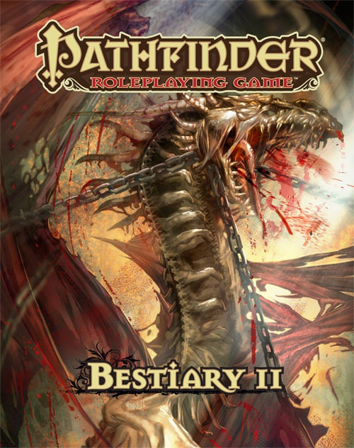 Pathfinder Roleplaying Game: Bestiary 2 Hardcover - RPG Books