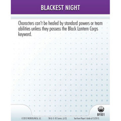 Blackest Night (BF001)