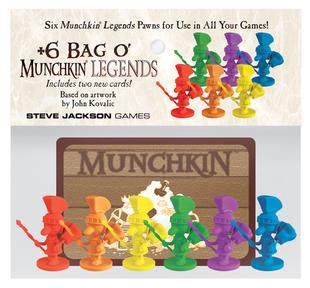 +6 Bag O Munchkins Legends