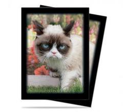 Grumpy Cat Flowers Standard Deck Protectors 50ct