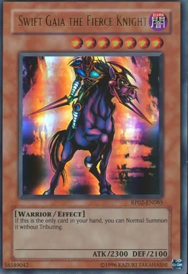 Swift Gaia The Fierce Knight Rp02 En085 Ultra Rare