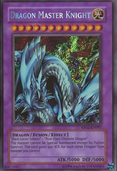 Dragon Master Knight - RP02-EN097 - Secret Rare - Unlimited Edition