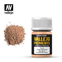 Vallejo Pigments - New Rust - VAL73118 - 17ml
