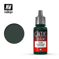 Vallejo Game Color - Dark Green - VAL72028 - 17ml