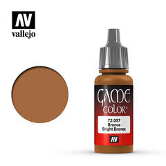 Vallejo Game Color - Bright Bronze - VAL72057 - 17ml