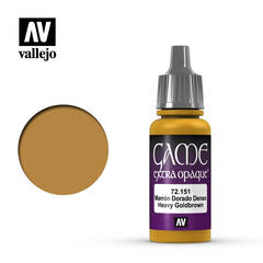 Vallejo Game Extra Opaque - Heavy Goldbrown - VAL72151 - 17ml
