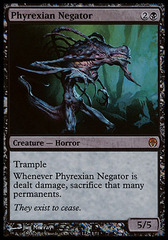 Phyrexian Negator - Alternate Art FOIL