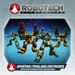 Robotech RPG Tactics UEDF Spartan/Phanlanx Destroids Box Set
