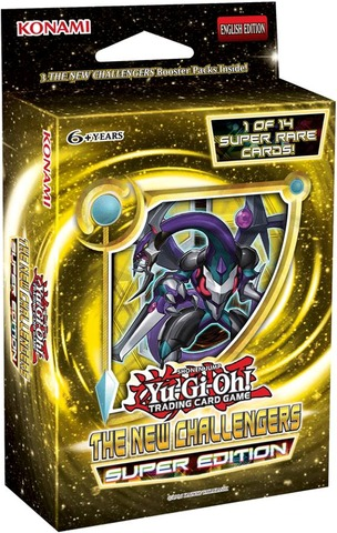 Yu-Gi-Oh The New Challengers Super Edition Pack