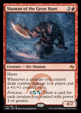 Shaman of the Great Hunt - Foil