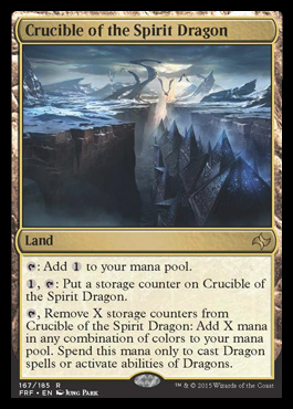 Crucible of the Spirit Dragon - Foil