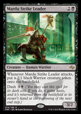 Mardu Strike Leader - Foil