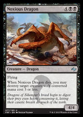 Noxious Dragon - Foil
