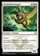 Wardscale Dragon - Foil