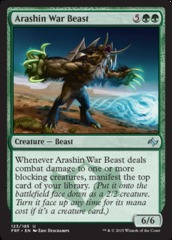 Arashin War Beast on Channel Fireball