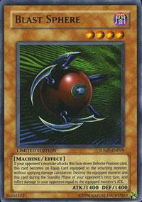 Blast Sphere - JUMP-EN019 - Ultra Rare - Promo Edition