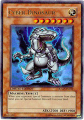 Cyber Dinosaur - JUMP-EN024 - Ultra Rare - Promo Edition on Channel Fireball