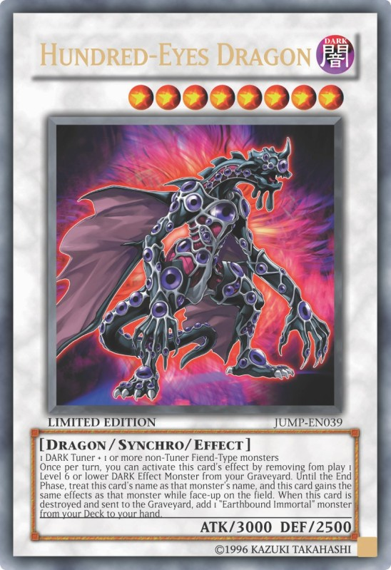 Hundred-Eyes Dragon - JUMP-EN039 - Ultra Rare - Promo Edition