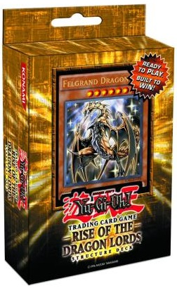 Yu-Gi-Oh Structure Deck: Rise of the Dragon Lords