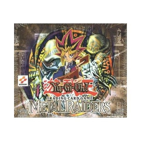 Metal Raiders 1st Edition Booster Box