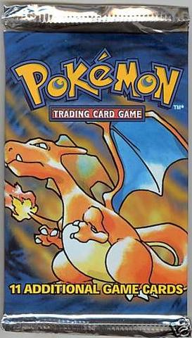 Pokemon Base Set Booster Pack (Unlimited)