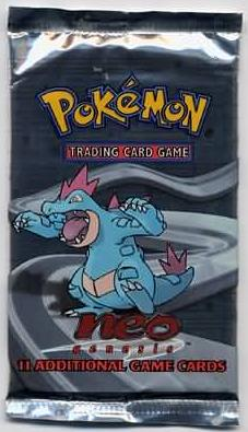 Pokemon Neo Genesis Booster Pack (Unlimited)