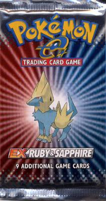 EX Ruby and Sapphire Booster Pack