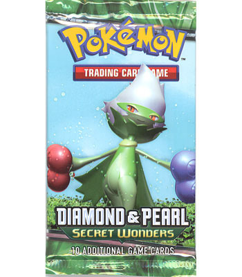 Diamond and Pearl: Secret Wonders Booster Pack