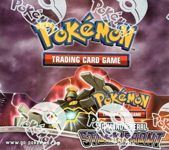 Pokemon Stormfront Booster Box