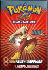 EX Ruby And Sapphire - Ruby Theme Deck