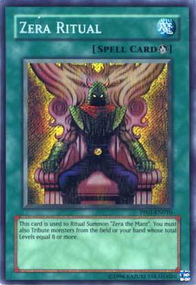Zera Ritual - PP01-EN010 - Secret Rare - Unlimited Edition