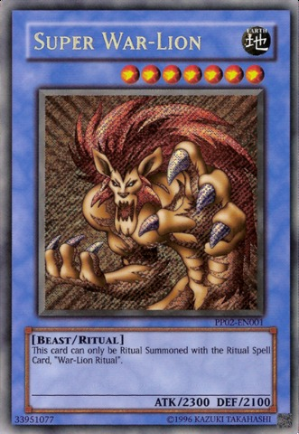 Super War-Lion - PP02-EN001 - Secret Rare - Unlimited Edition