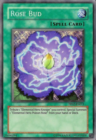 Rose Bud - PP02-EN011 - Secret Rare - Unlimited Edition